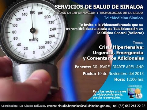 Crisis Hipertensiva: Urgencia, Emergencia y Comentarios Adicionales