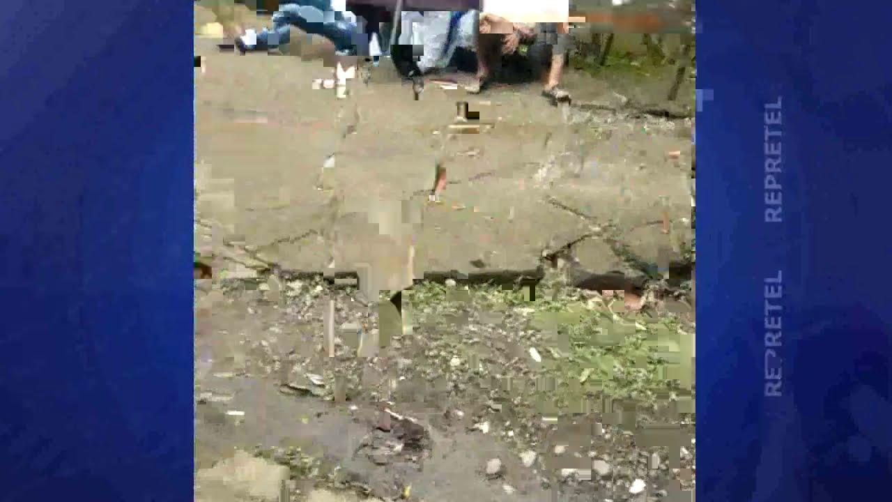 Alrededor de 120 cubanos varados en la frontera de Peñas Blancas