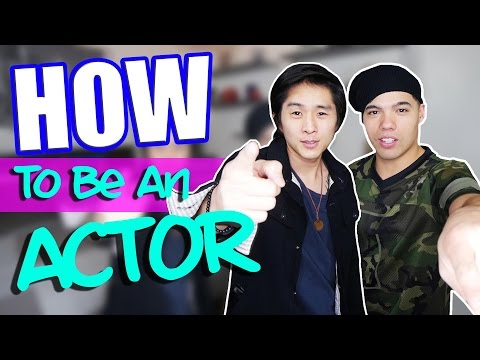 HOW TO BE AN ACTOR ft Justin Chon