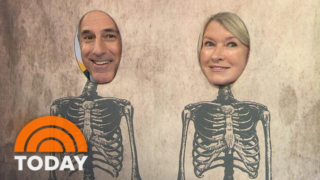 Martha Stewartu0027s DIY Spooky Halloween Decorations And Recipes | TODAY