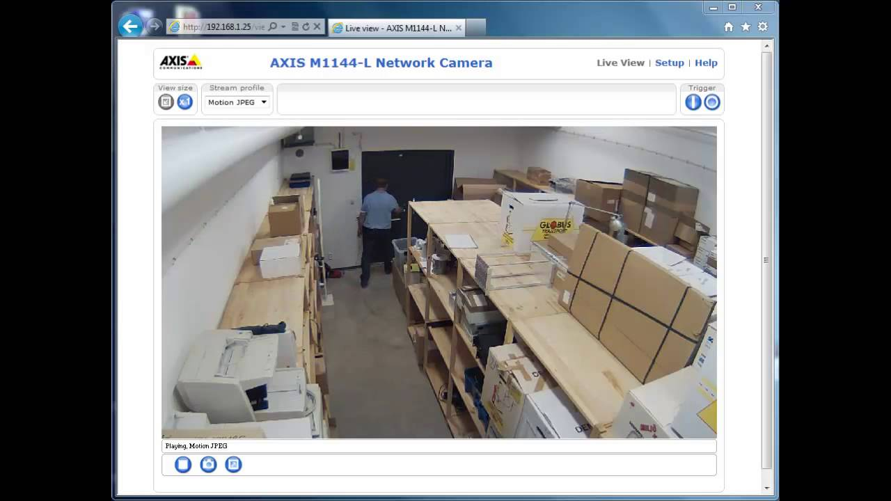 AXIS M1144-L Network Camera Download Driver