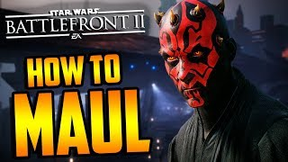 Star Wars Battlefront 2: How to Not Suck - Darth Maul Hero Guide and Review