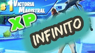 THE BEST TIP TO GET INFINITE XP!!! BATTLE ROYALE ? Fortnite