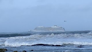 Kreuzfahrtschiff havariert vor Norwegens Küste