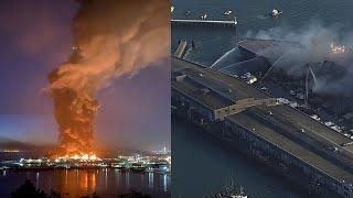 Watch Live: San Francisco S Provide Update On Massive Pier 45 Fire