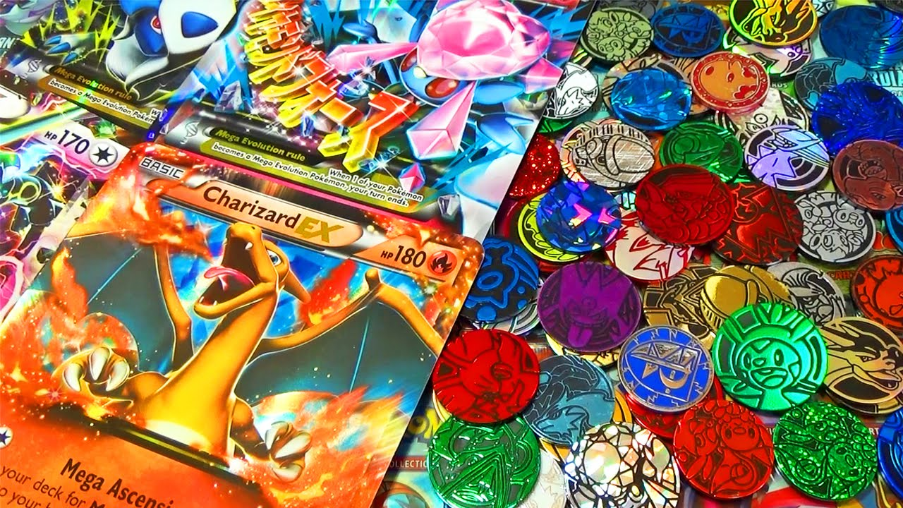 Ma collection de cartes pok mon g antes jetons pok mon - Carte pokemon geante ...