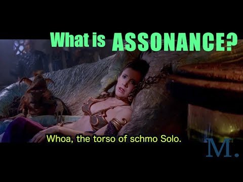 What is ASSONANCE?  Explained by Jabba the Hutt