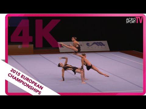 Mausolf, Klier, Solh - Germany - Women´s group - Junior balance final - European Championship 2015