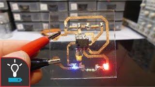 Cómo Hacer Circuitos En Cristal