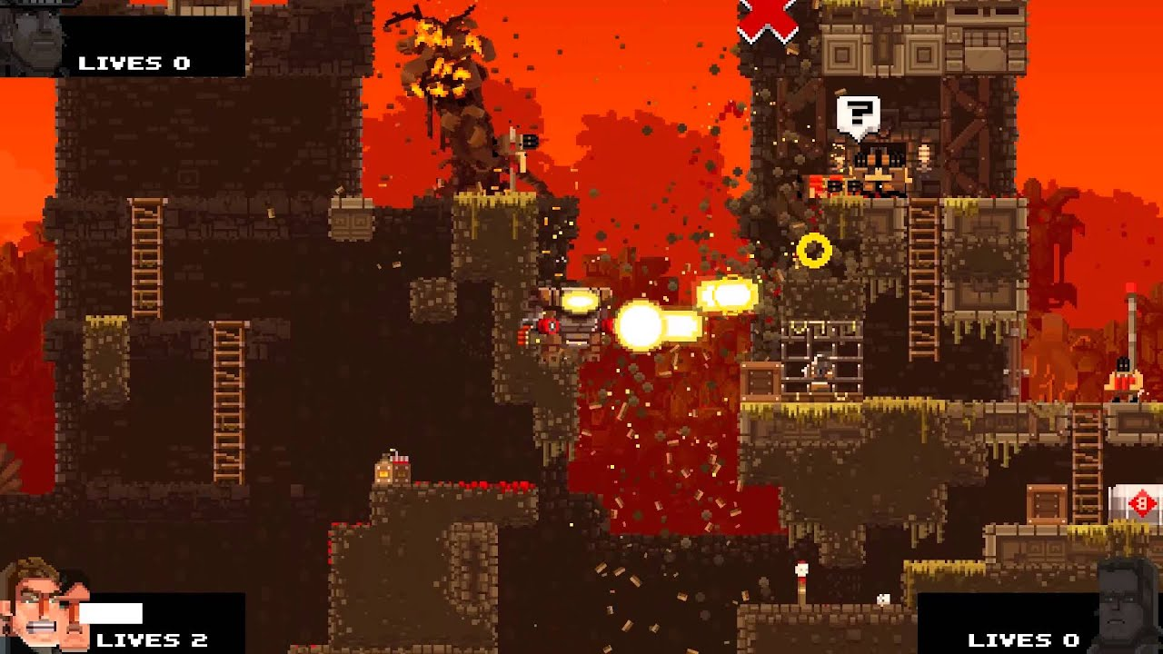 SBros: A Broforce Adventure - Part 2