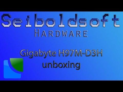 Gigabyte H97M-D3H unboxing