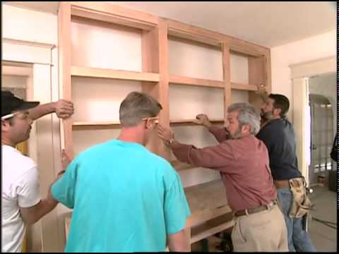 Custom-Made Kitchen Cabinets
