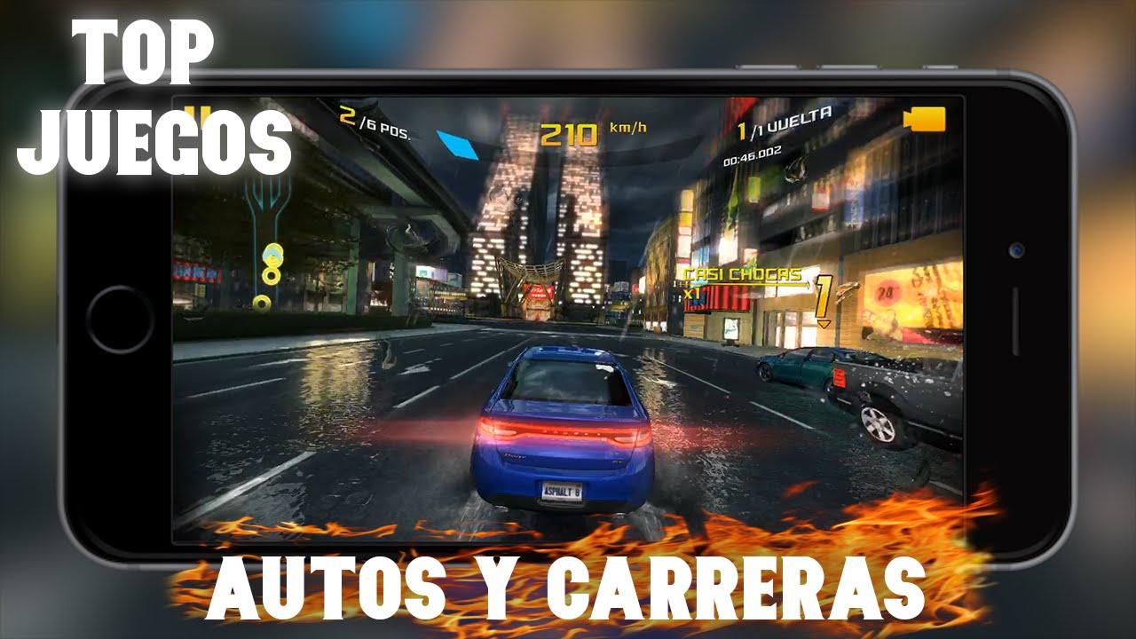 Top 7 Los Mejores Juegos De Autos Y Carreras Para Iphone Ipod Y