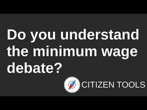 Do You Understand the Minimum Wage Debate?