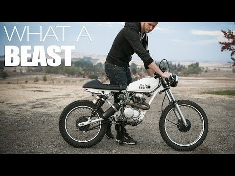 Exhaust Sound | 100cc Cafe Racer
