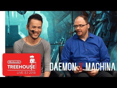 DAEMON X MACHINA Gameplay - Nintendo Treehouse: Live | E3 2018