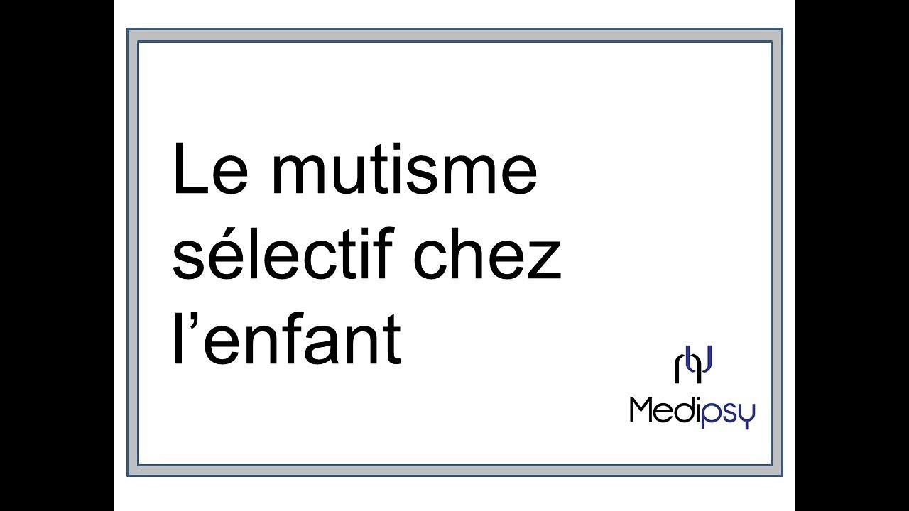 Download Le mutisme sélectif chez l'enfant