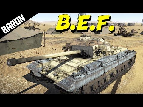 War Thunder Tanks Gameplay - British Expeditionary Force!