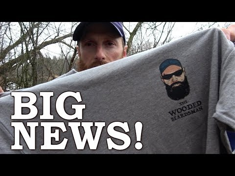 T-SHIRTS  and BIG NEWS!!! | Season 3 & 4 THE WILDERNESS LIVING CHALLENGE!