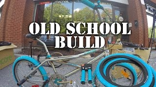 Old School 90's BMX Build with New School Accessories @ Harvester Bikes