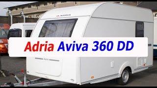 Самый легкий прицеп от Adria - Aviva 360 DD. до 750 кг, категория В. Обзор на выставке.