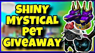 SHINY MYSTICAL, KNIGHT, AND KORBLOX PET GIVEAWAY ON MAGNET SIMULATOR | 500+ UPDATE 19 ROBLOX