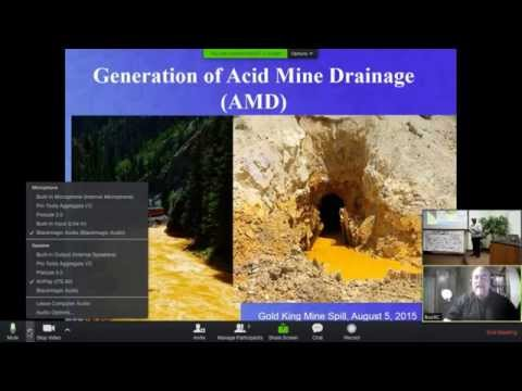 """Chemical & Environmental Impact of Gold Mining"" Presented by Ron Cohen"
