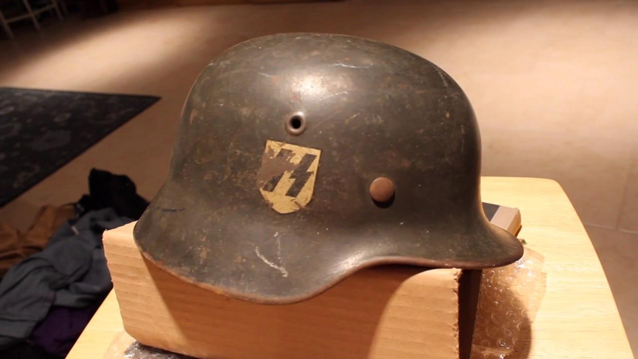 SS Single Decal M40 ET64 Helmet