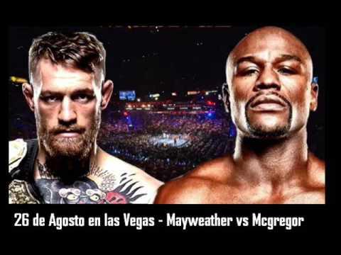 peso pelea mayweather vs mcgregor