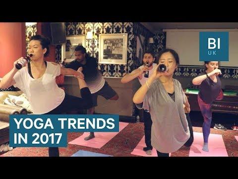 5 of the weirdest yoga crazes that took off in 2017