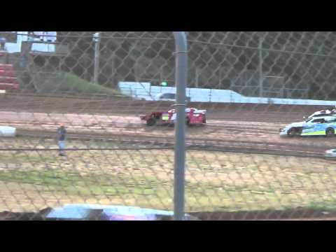 Ark La Tex Speedway Tootsie Smith Limited modified hot laps 2015