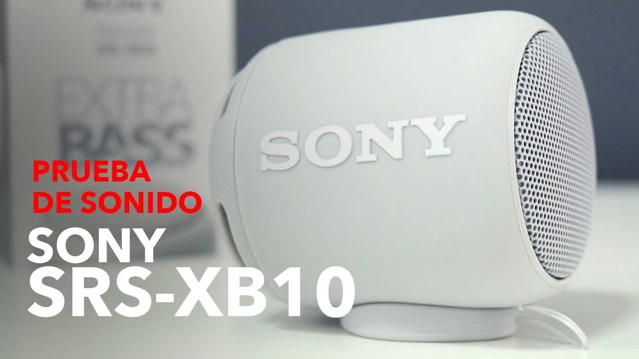 Sony XB10 Portable Wireless Speaker with Bluetooth, Grey