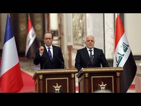 Fighting ISIL in Iraq prevents terror at home - President Hollande