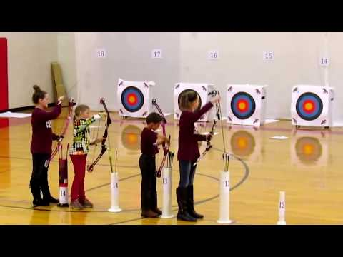Awsome Pendleton County High School Archery Youth Competition 2016