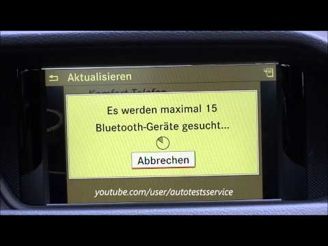 HowTo: Mercedes COMAND Online NTG 4.5 How to get online? Wie online gehen? BlueDUN
