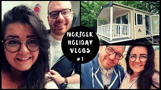 Norfolk Haven Holiday - Travel Day & Great Yarmouth | VLOG #1 | 2018