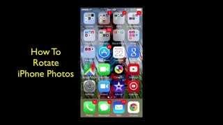 How To Rotate iPhone Photos