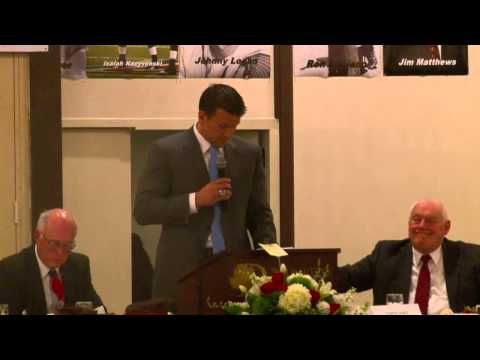Greater Binghamton Sports Hall of Fame - 2015 Guest Speaker: Chris Snee