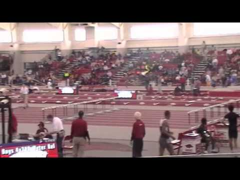 2014 4x200 meter relay boys arkansas high school indoor youtube