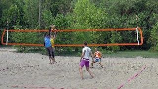 Пляжный волейбол. FullHD. Полуфинал
