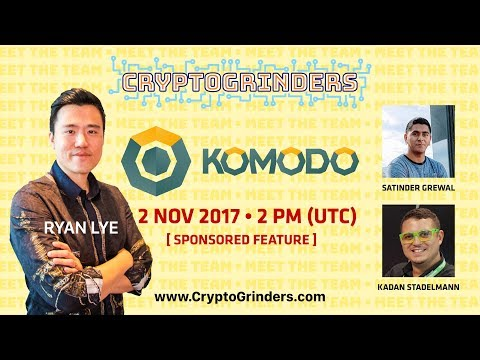 ICO: Komodo Live AMA + Sneak Peek Monaize | 2 Nov 2017 |