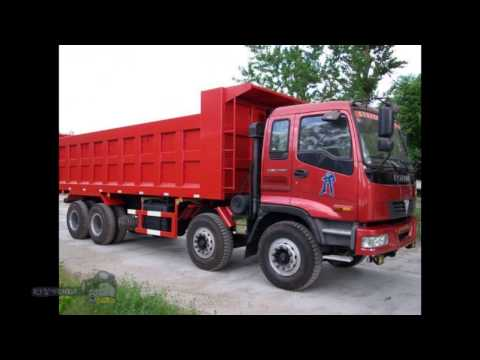 Chinese Foton trucks Photo overview