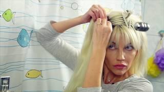 Накладные волосы! Что такое трессы и как правильно их надевать! Натуральные волосы на заколках