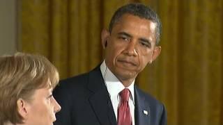 Angie & Obama: Das Rapbattle