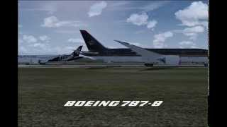 Boeing Field, Everett, Washington AI Traffic (FS2004)