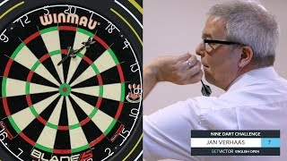 Jan Verhaas | The BetVictor 9 Dart Challenge | World Snooker