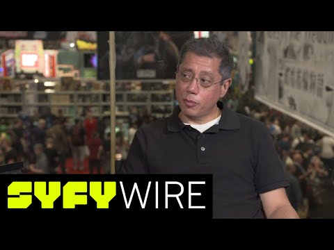 The Librarians' Dean Devlin Geeks Out Just Like The Rest of Us  New York ComicCon 2017  SYFY WIRE