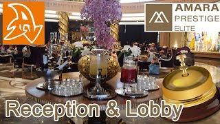 Amara Prestige 5* Обзор отеля. Ресепшен. Лобби. Кафетерий. Hotel review. Reception. Lobby