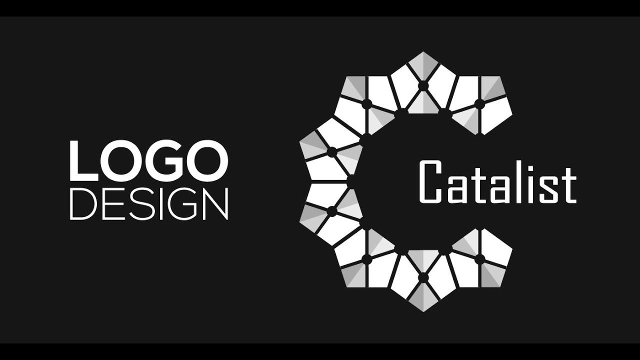 Professional Logo Design - Adobe Illustrator cs6 (Catalist) - YouTube