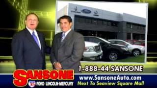 SANSONE Ford Lincoln Mercury 2009 TV Commercial by Greenrose Media with Paul Sansone